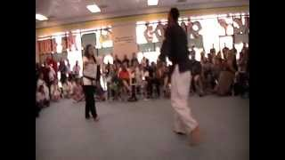 Calcia Cisneros Kung Fu San Soo Black Belt Promotions 2012