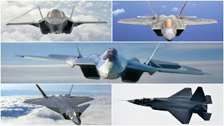 Top 5 fifth-generation Jet Fighter