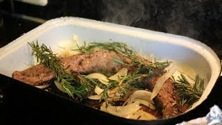 Как приготовить мясо косули в духовке