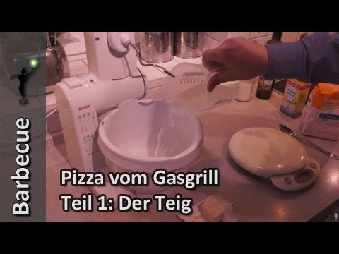 Pizzastein Für Gasgrill Landmann : Pizzateig herstellen so einfach gehts gasgrill