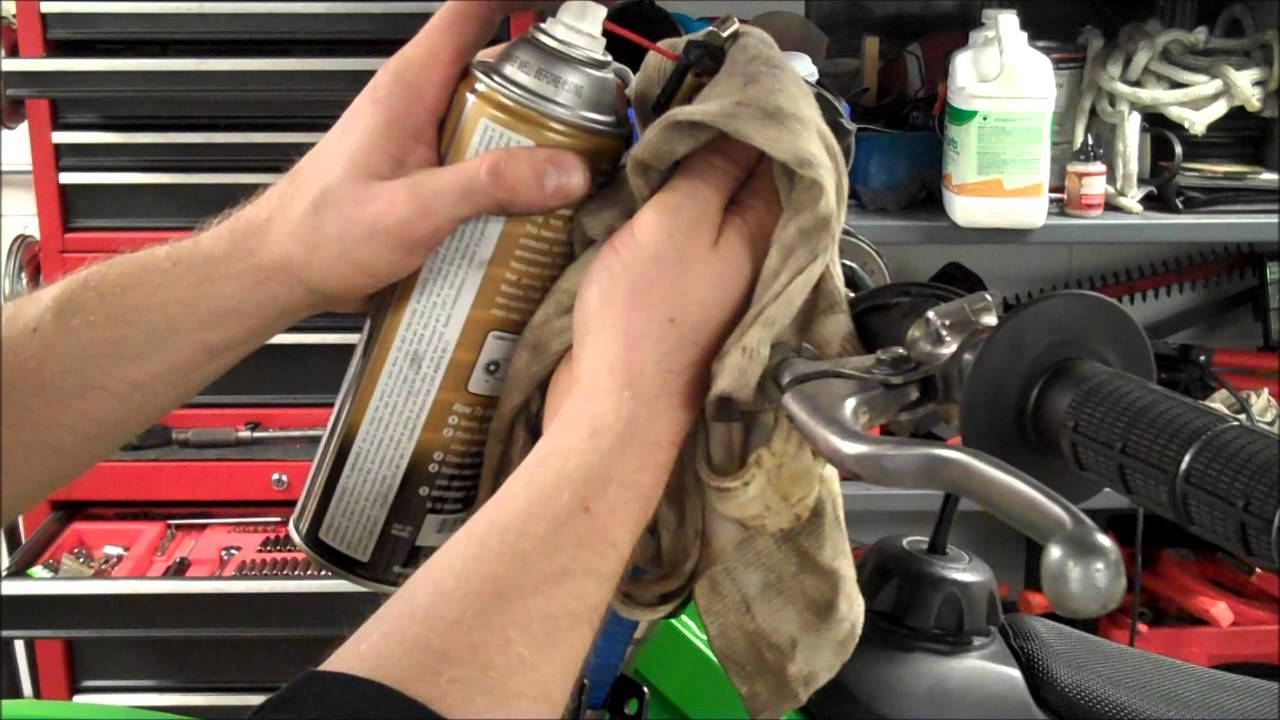 How To Kx250 Clutch Cable Lube Youtube
