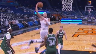 Aaron Gordon Dunks on Giannis Antetokounmpo! 2020-21 NBA Season