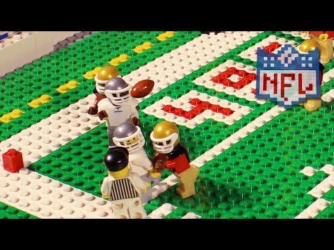 NFL: Dallas Cowboys @ San Francisco 49ers (Week 4, 2016) | Lego Game Highlights