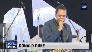 Ex-Cross River Governor, Donald Duke, dazzles audience with jazz music