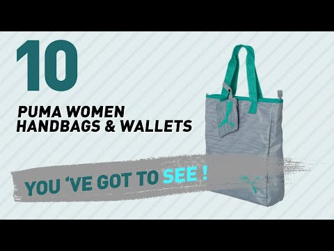 Puma Women Handbags & Wallets, Top 10 Collection // New & Popular 2017 thumbnail