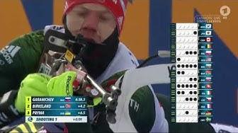 """Biathlon Weltcup - """" Staffel Herren """" -  Canmore 2019 / Relay Men"""
