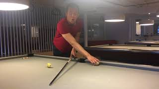Weight of Cue DOES AFFECT spin speed and control of cue ball
