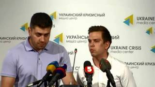 Ukrainian Hostages In Russia. Ukrainian Crisis Media Center, 8th Of August 2014