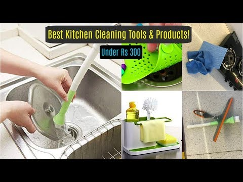 best-kitchen-cleaning-tools-&-products-under-rs.300-|-cleaning-products-to-buy-from-amazon