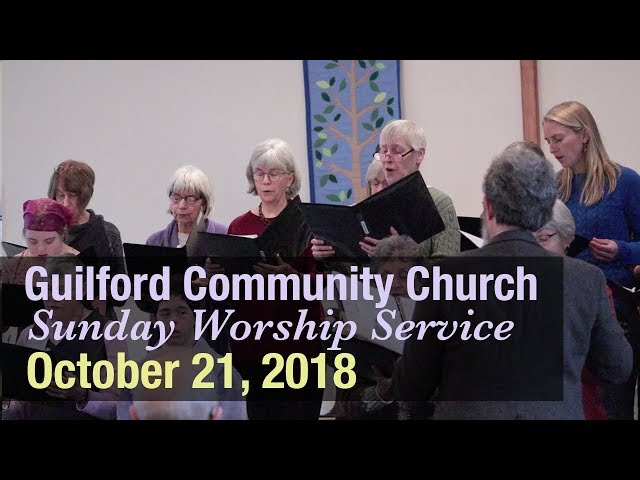 Guilford Church Service - 10/21/18