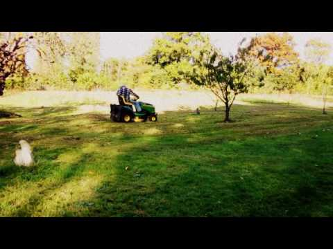 Real time lawn mowing 2 - Countryside cutting