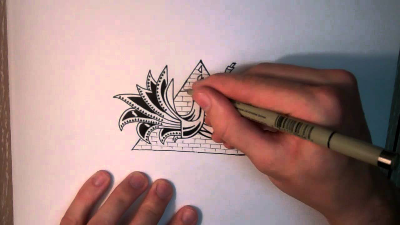 How to Doodle: Cool Mysterious Stuff [Speed Edit] - YouTube