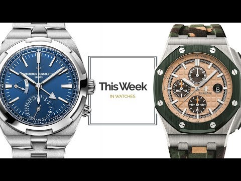 TWIW: Pre-SIHH, Audemars Piguet V. Vacheron; Moser Controversy; New Watches From Ressence, Oris