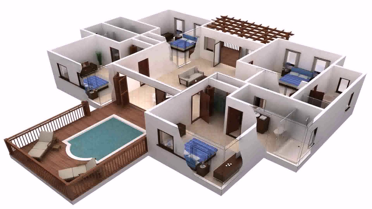 3d House Map Design Software Free Download - YouTube