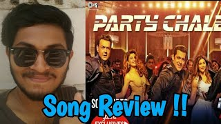 PARTY CHALE ON RACE 3 SONG | SONG REACTION | SONG REVIEW | SALMAN KHAN, MIKA SINGH, VICKEY-HARDIK |
