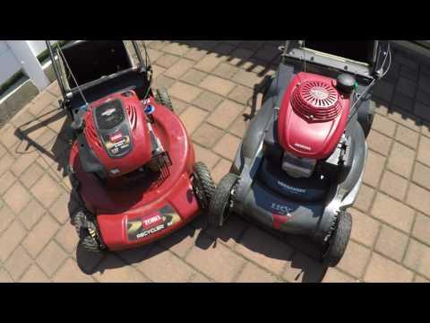 Honda vs. Toro (Toro Recycler 22 vs. Honda Hrx217) Which is better buy? + Overview