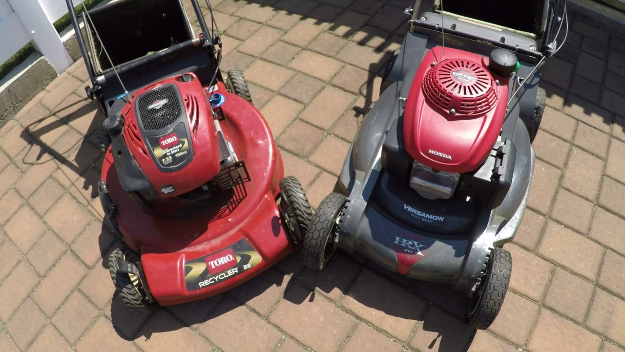 Honda Vs Toro Recycler 22 Hrx217 Which Is Better Overview
