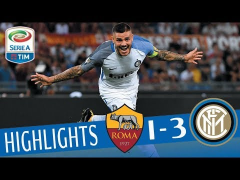 Roma - Inter 1-3 - Highlights - Giornata 2 - Serie A TIM 2017/18