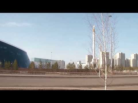 [Kazakhstan] Astana 02  leaving mosque to southward complex