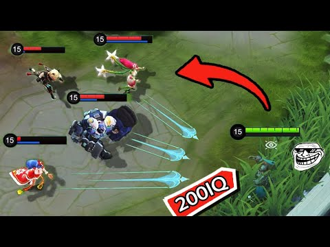*200IQ* HOW TO COMBO????  - Mobile Legends Funny Fails And WTF Moments! #7