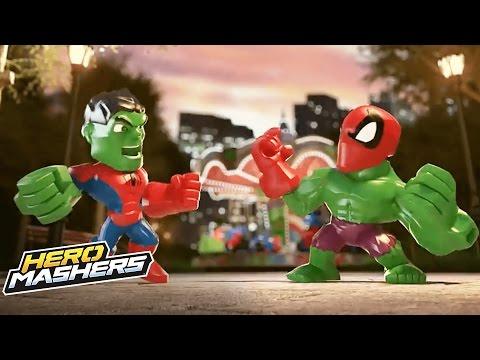 Hero Mashers Australia - 'Super Hero Mashers Micro' Official Clip