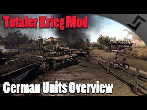 Totaler Krieg Mod - German Units Overview + TK Mod Mechanics