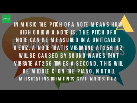 What Is The Meaning Of Pitch In Music?