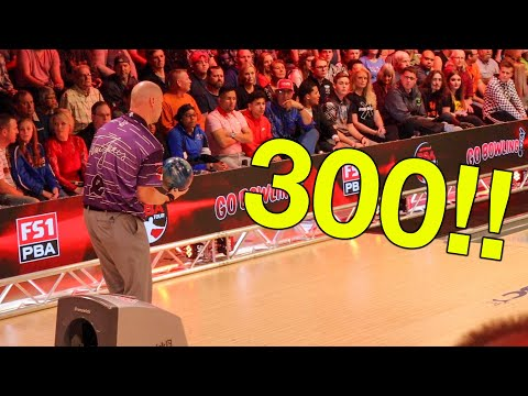 PBA Hall Of Fame Classic | Bowler Shoots 300 In Championship Game!!!