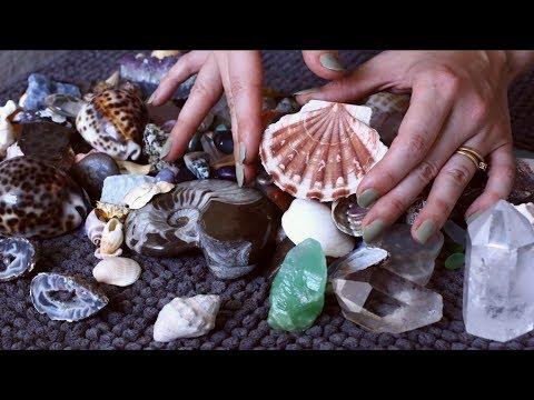 My Whole Crystal & Shell Collection Whispered ASMR