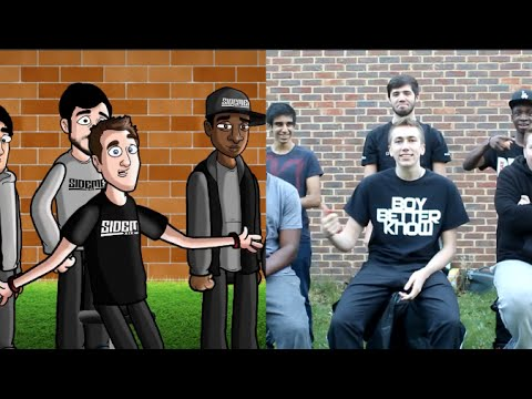 THE SIDEMAN HELIUM CHALLENGE CARTOON AND REALITY AT ONCE!