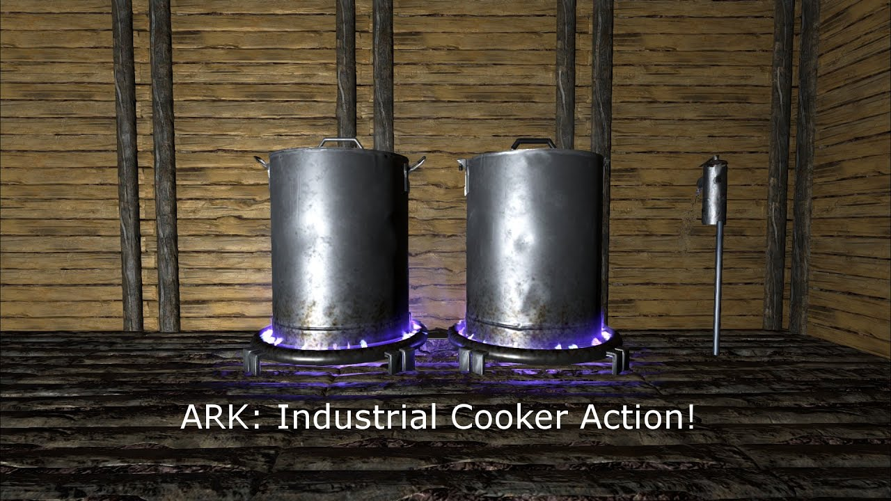 how to use industrial cooker ark