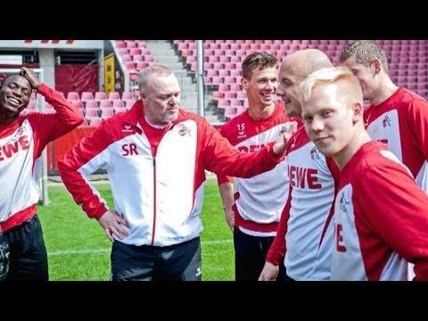Stefan Raab trainiert den 1 FC Köln  Teil 1  TV total