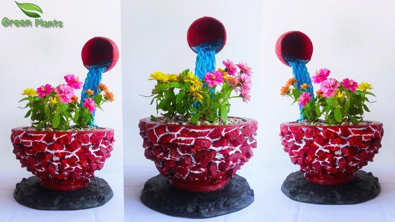 Flower Garden Ideas Garden Craft Ideas Flower Garden Diy Ideas Tabletop Flower Garden Green Plants Youtube