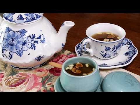 대추차 (대추청) Jujube Tea (Jujube extract) :: 전통차 Korean Traditional Tea