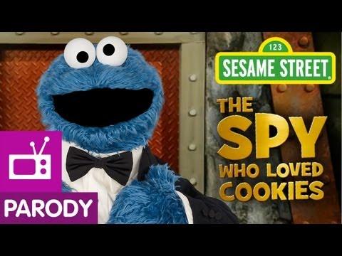 Sesame Street: The Spy Who Loved Cookies (007 Parody)