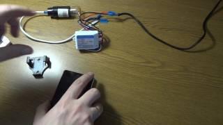 Радио реле HONGDI тест с BroadLink RM Pro