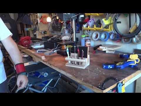 Save money! Transform A scrap board into a beautiful Pen & stationery holder