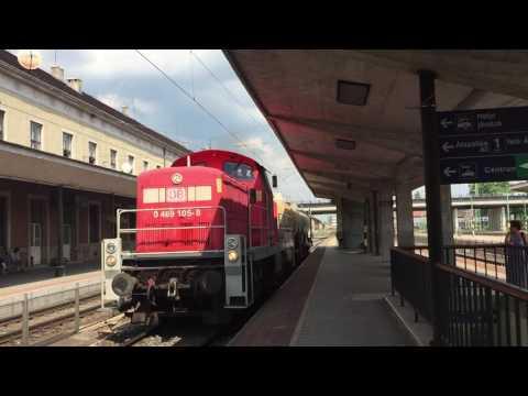 DB CARGO 469 105-8 halad Győr személypályaudvaron