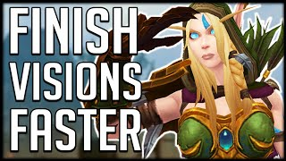 CLEAR VISIONS FASTER - Tips & Tricks To Help You WIN | WoW BfA