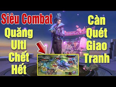 [Gcaothu] Siêu Combat Hayate càn quét giao tranh - Quăng Ulti chết nguyên cả team địch