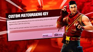 [EU] Custom Matchmaking Scrims ! [ANY PLATFORM] (Fortnite Battle royale LIVE) ! Code