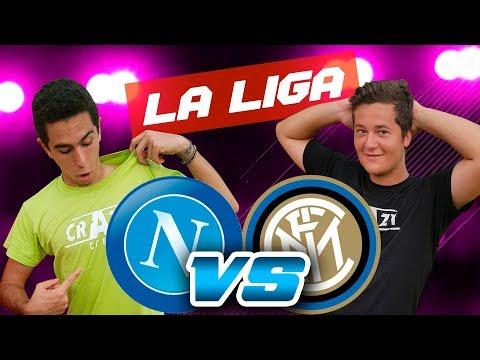 NAPOLES - INTER | FIFA 18 | THEJAP VS JK [Liga Crazy Crew]