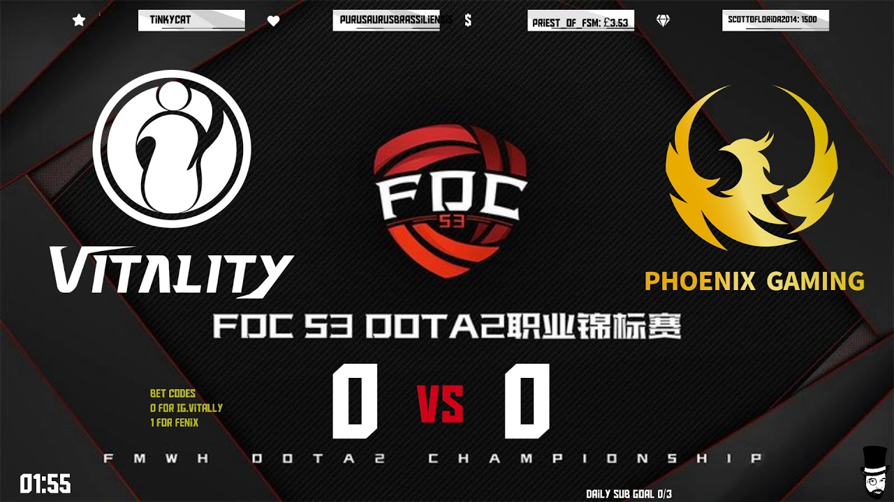 Download IG.Vitality vs Phoenix Gaming FDC / $2,000 NVIDIA RTX 3080 Gaming PC !giveaway - vast.link/allstar