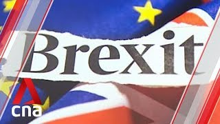 Brexit negotiations between UK PM Theresa May, Labour party collapse
