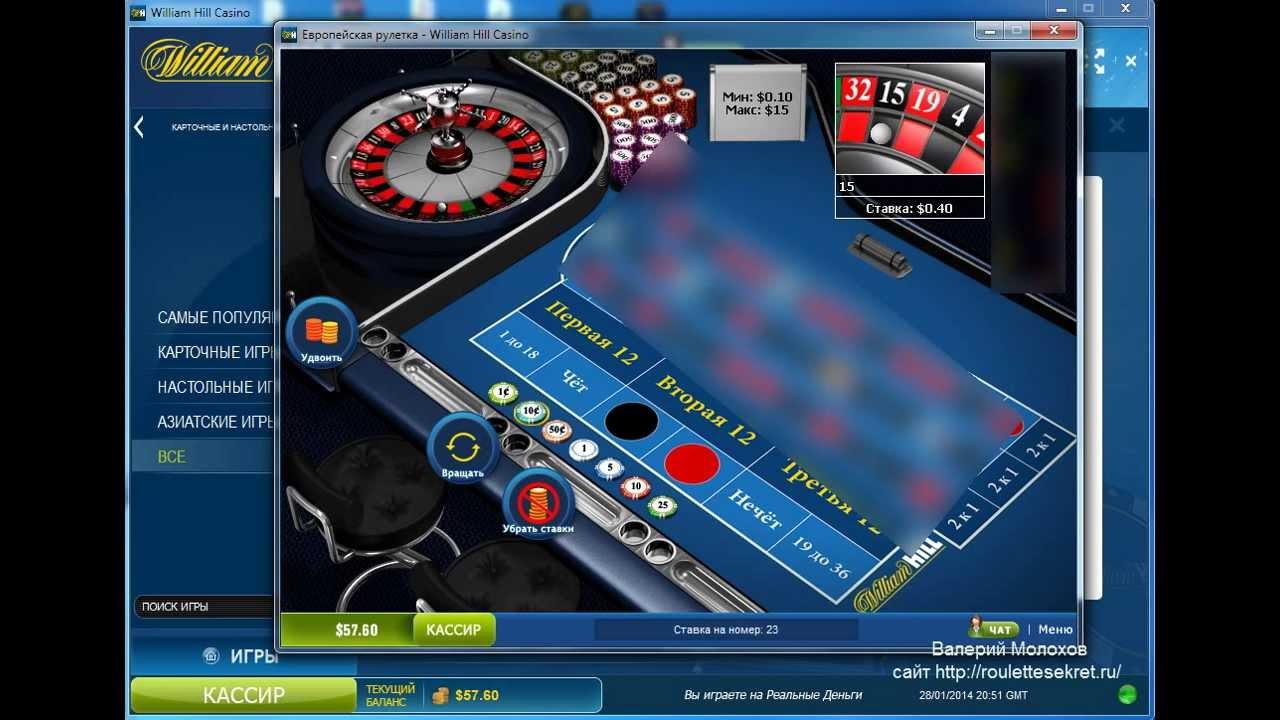 Mini roulette william hill