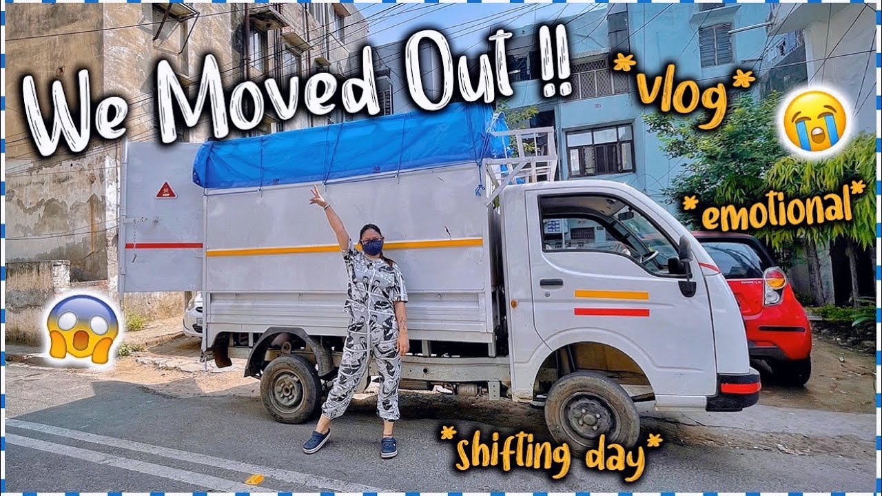 I Finally Moved Out 😱 Shifting Day Vlog | New House🏠 | ThatQuirkyMiss