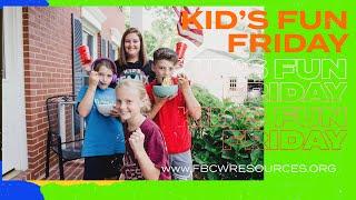 Kid's Fun Friday | Fasting | Kid's Minister Kerry Dillman