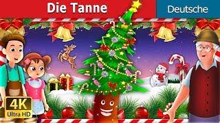Die Tanne | The Fir Tree Story in German | Christmas Story in Germa...