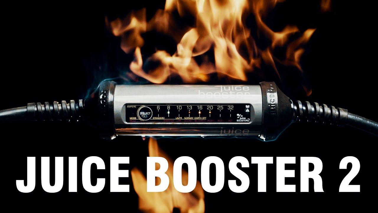 JUICE BOOSTER 2 - Die MOBILE Wallbox ✨