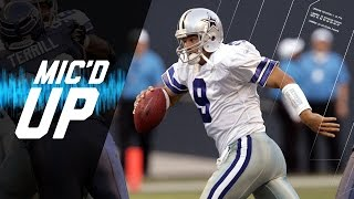 Best of Tony Romo Mic'd Up From Backup QB to First Playoff Win | Sound FX | NFL Films